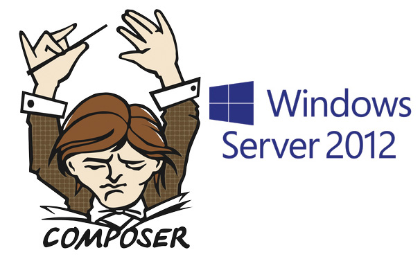 Instalando o Composer no Windows Server 2012